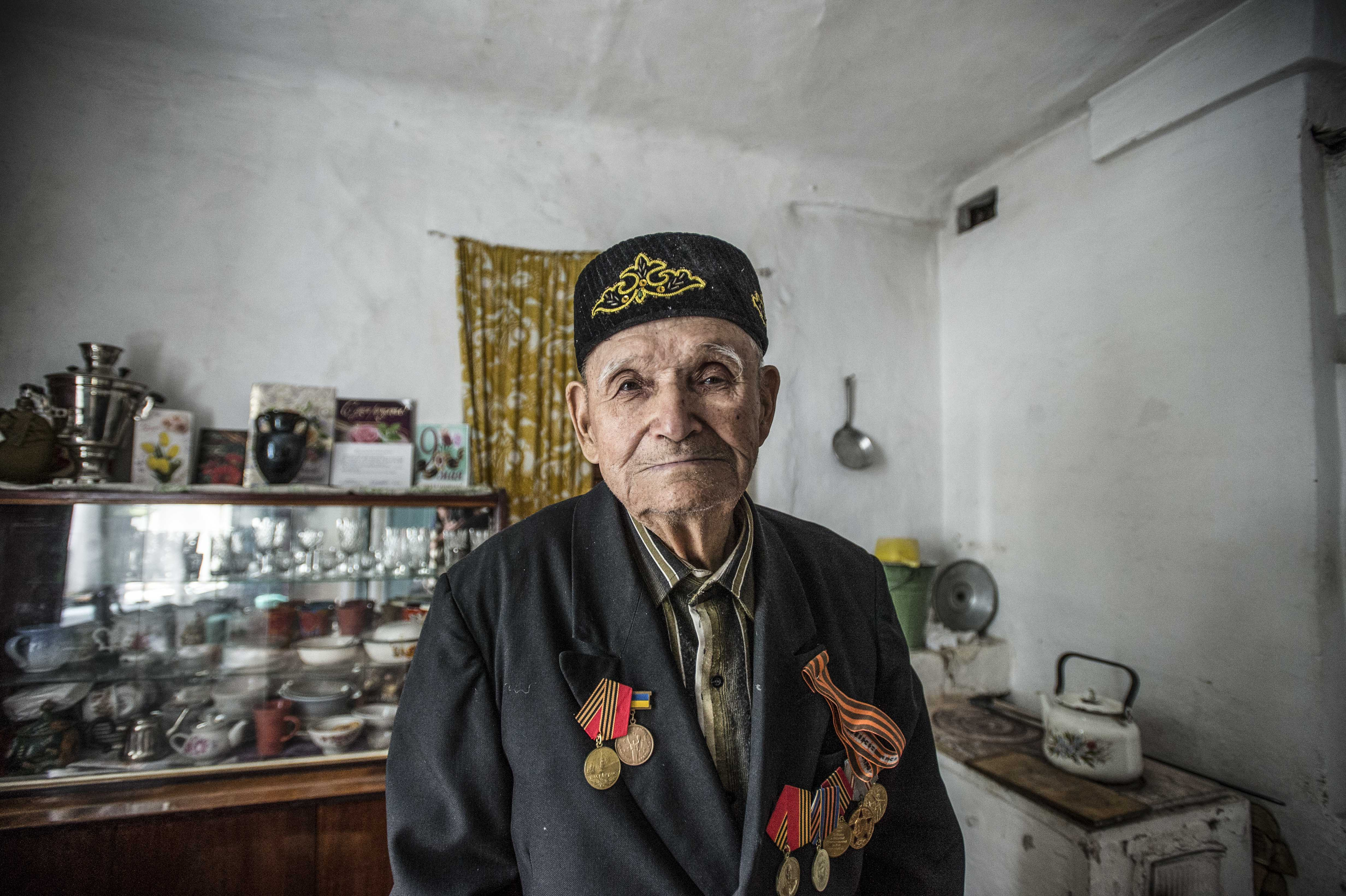 VETERANS OF THE CRIMEAN